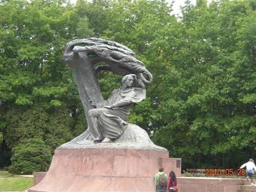 ワジェンキ公園(ワルシャワ)@ポーランド
