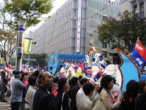 ドラゴンズ優勝パレード(2006年)2
