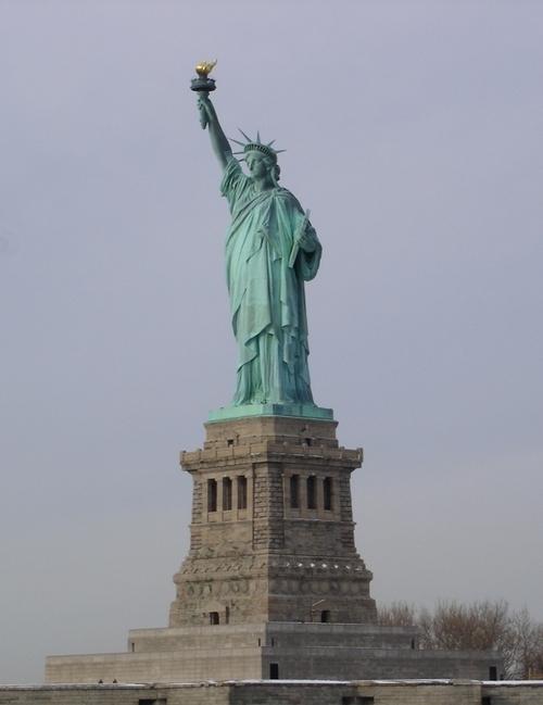 ニューヨーク(自由の女神)@USA